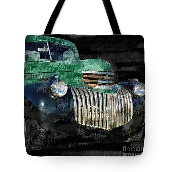 Vintage Chevrolet Pickup 1 Tote Bag by Betty LaRue