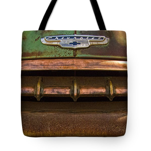 Vintage Chevy 2 Tote Bag by Nancy  de Flon