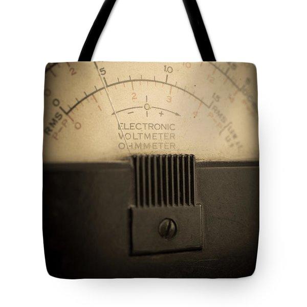 Vintage Electric Meter Tote Bag by Edward Fielding