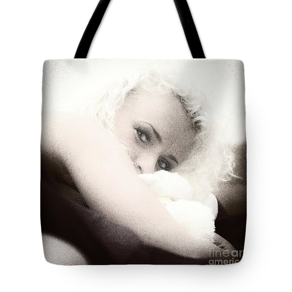 Vintage Eyes Tote Bag by Stelios Kleanthous