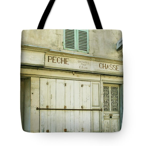Vintage French Shops Series No.1 Tote Bag by Nomad Art And  Design
