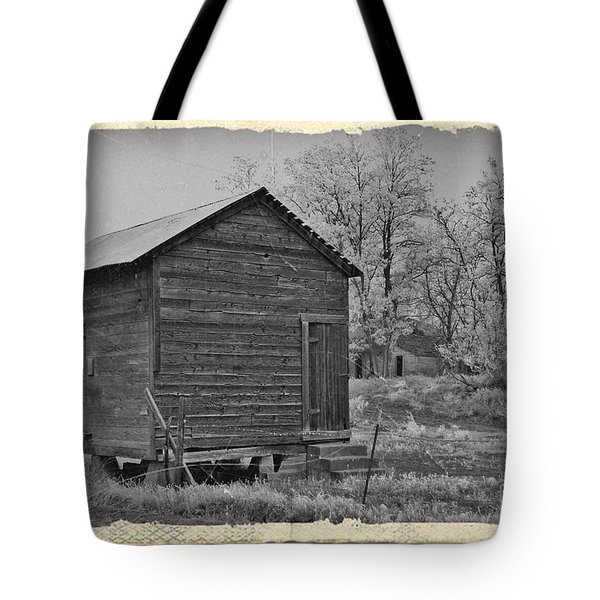 Vintage Frosty Morning 2 Tote Bag by Chalet Roome-Rigdon