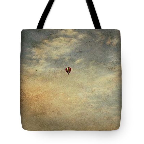 Vintage Hot Air Balloons Tote Bag by Dan Sproul