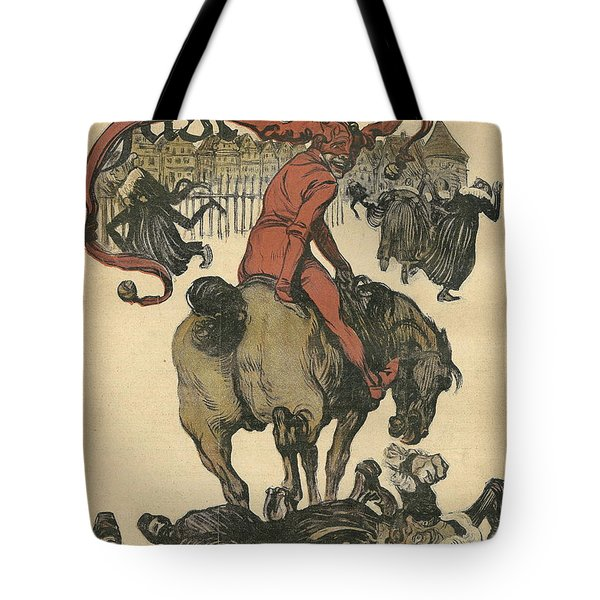 Vintage Jugend Magazine Cover Tote Bag by Konni Jensen