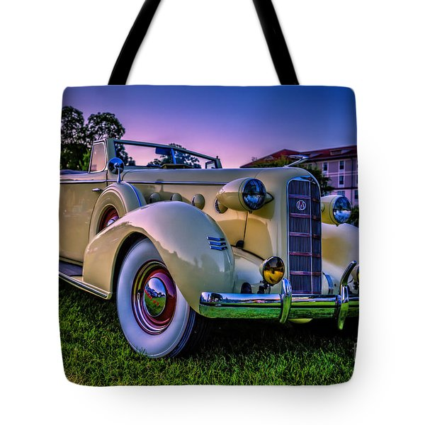 Vintage Lasalle Convertible Tote Bag by Edward Fielding