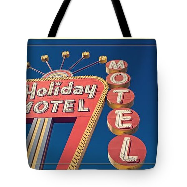 Vintage Neon Signs Trio Tote Bag by Edward Fielding