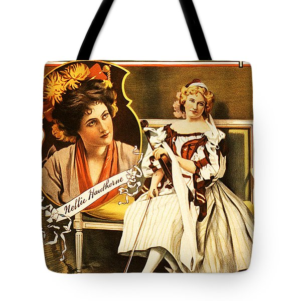 Vintage Nostalgic Poster - 8035 Tote Bag by Wingsdomain Art and Photography