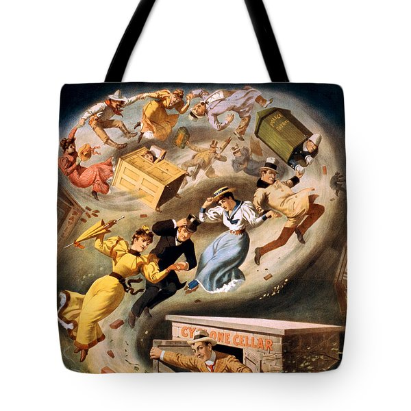 Vintage Nostalgic Poster - 8040 Tote Bag by Wingsdomain Art and Photography