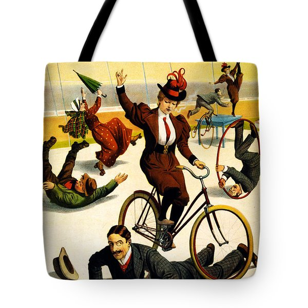 Vintage Nostalgic Poster - 8042 Tote Bag by Wingsdomain Art and Photography
