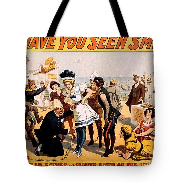 Vintage Nostalgic Poster - 8046 Tote Bag by Wingsdomain Art and Photography
