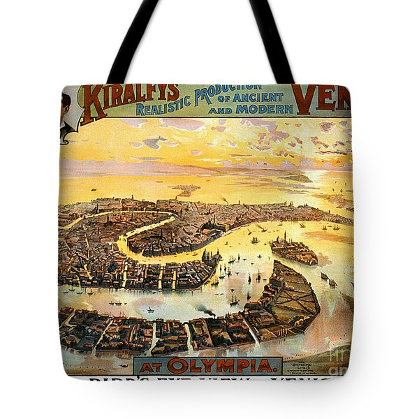 Vintage Nostalgic Poster - 8054 Tote Bag by Wingsdomain Art and Photography