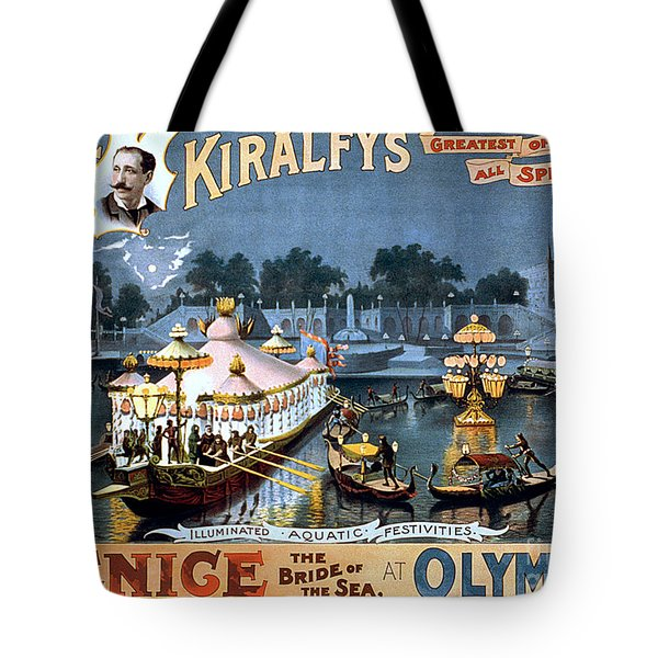 Vintage Nostalgic Poster - 8056 Tote Bag by Wingsdomain Art and Photography