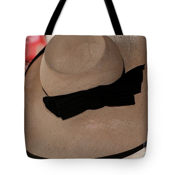 Vintage Picture Hat Tote Bag by Kathleen Struckle