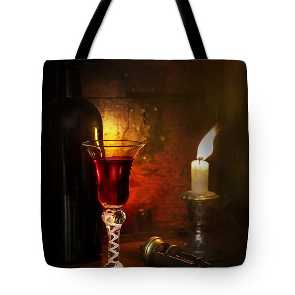 Vintage Port Tote Bag by Amanda And Christopher Elwell