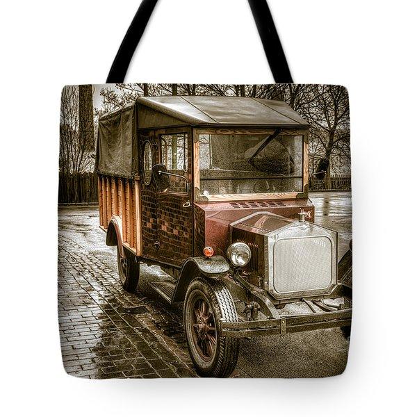 Vintage Replica Tote Bag by Adrian Evans
