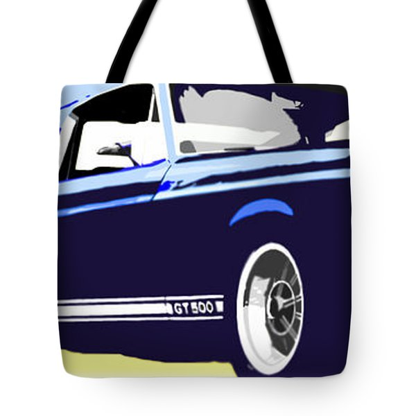 Vintage Shelby Gt500 Tote Bag by Bob Orsillo