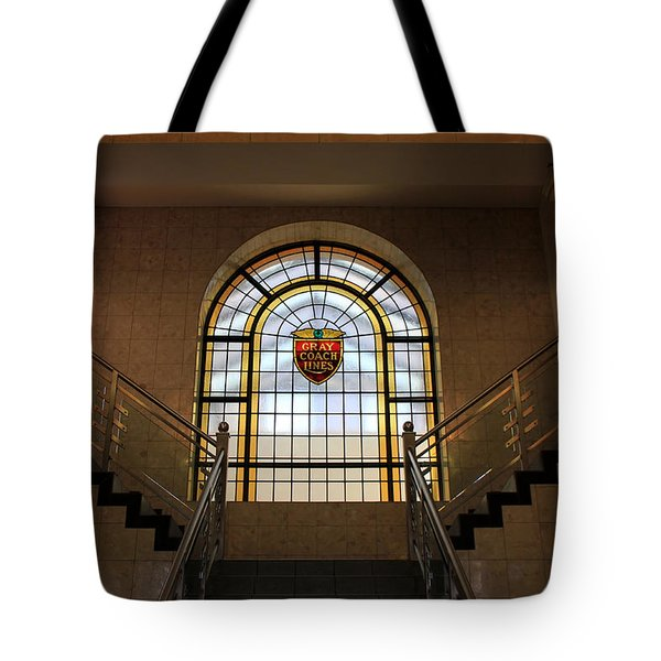 Vintage Stained Glass 1 Tote Bag by Andrew Fare