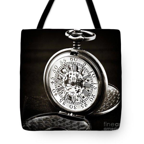 Vintage Time Tote Bag by John Rizzuto