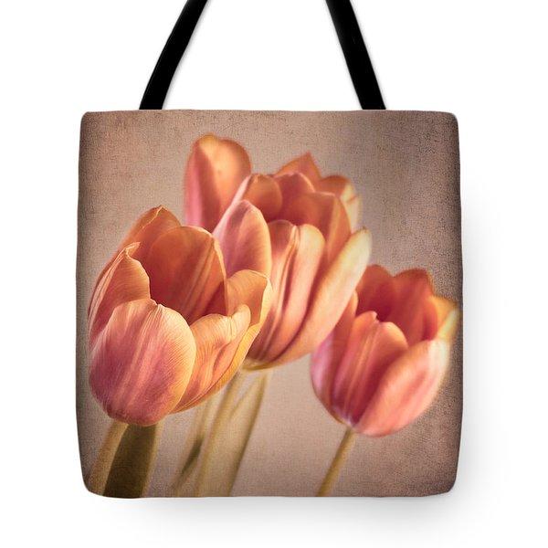 Vintage Tulips Tote Bag by Wim Lanclus