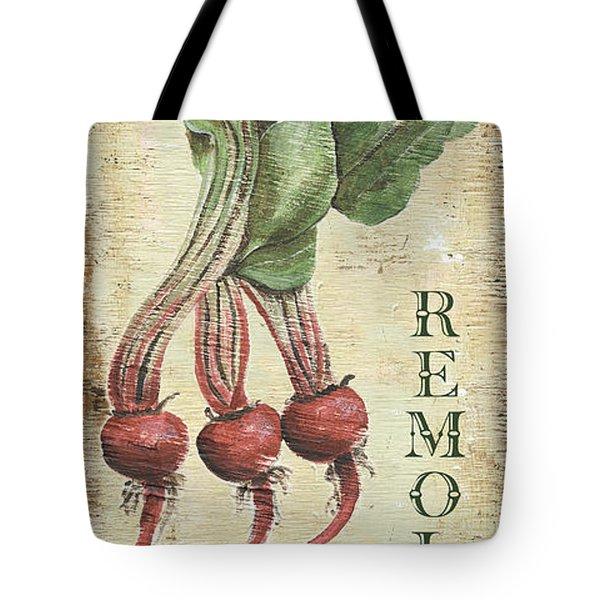 Vintage Vegetables 3 Tote Bag by Debbie DeWitt