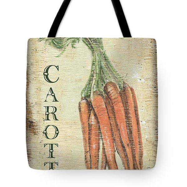 Vintage Vegetables 4 Tote Bag by Debbie DeWitt