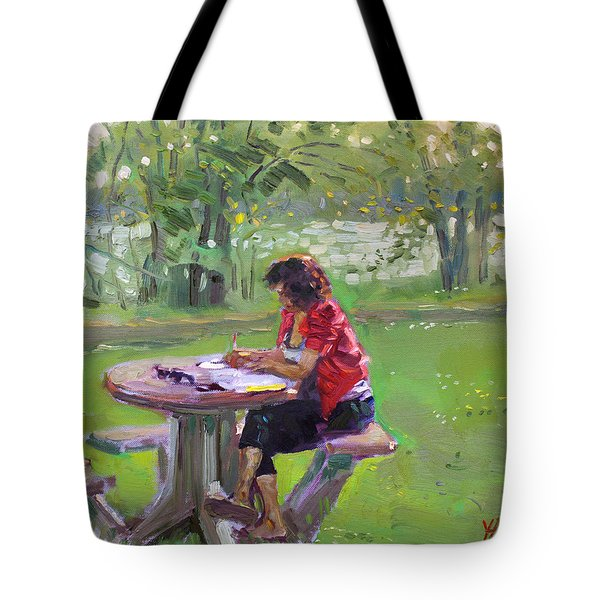 Viola - The Math Teacher Tote Bag by Ylli Haruni