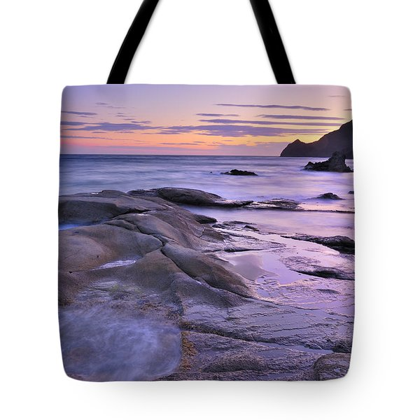 Violet Place Tote Bag by Guido Montanes Castillo