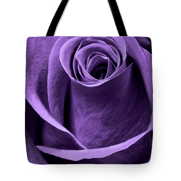 Violet Rose Tote Bag by Adam Romanowicz