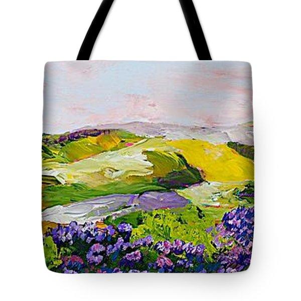 Violet Sunrise Tote Bag by Allan P Friedlander