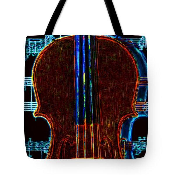 Violin - 20130128v1 Tote Bag by Wingsdomain Art and Photography