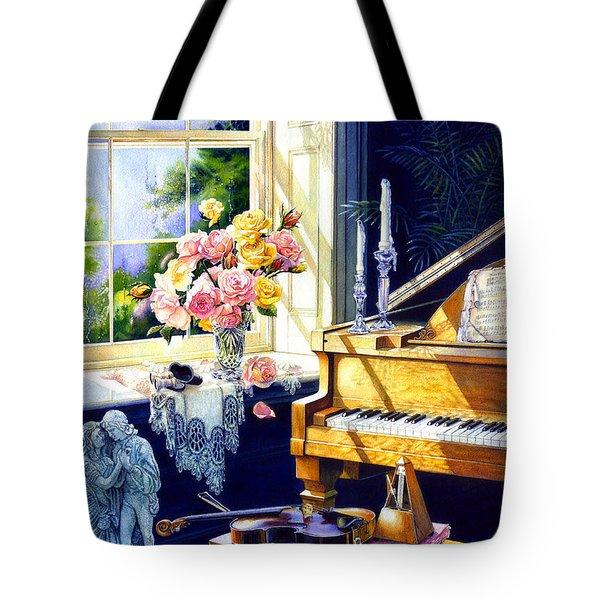 Virginia Waltz Tote Bag by Hanne Lore Koehler