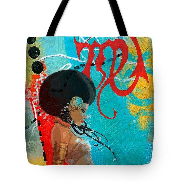 Virgo Tote Bag by Corporate Art Task Force