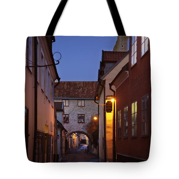 Visby Evening  Tote Bag by Ladi  Kirn