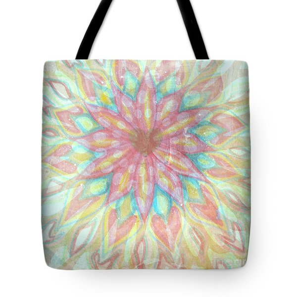 Visionary Crown Chakra Tote Bag by Sacred  Muse