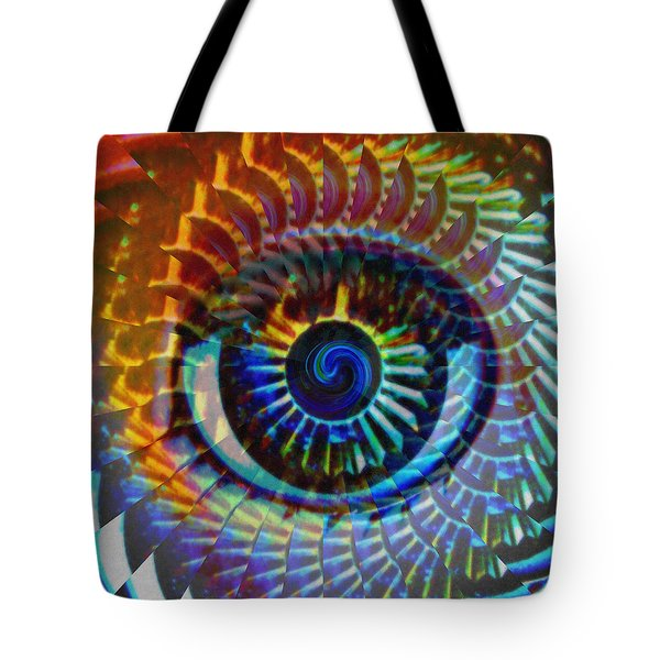 Visionary Tote Bag by Gwyn Newcombe