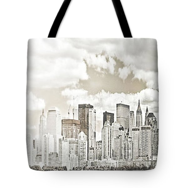 Visions In My Mind Tote Bag by Janie Johnson