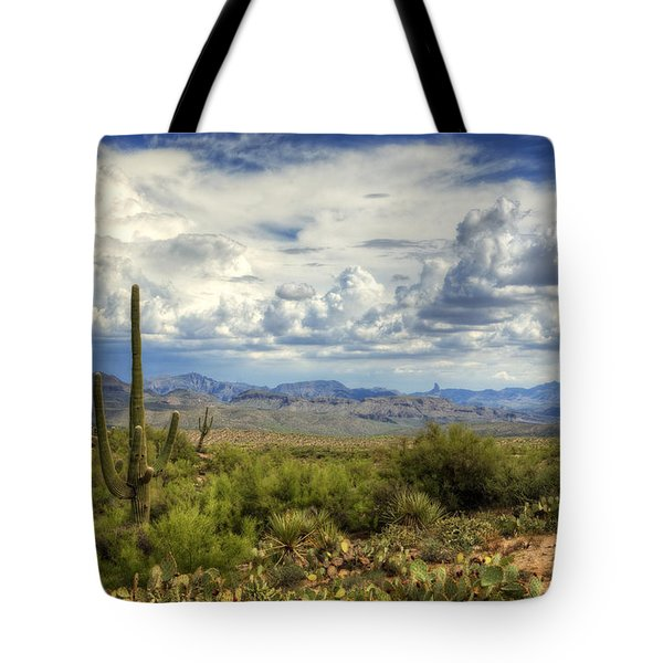 Visions of Arizona  Tote Bag by Saija  Lehtonen