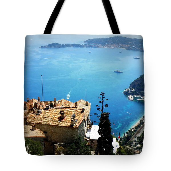 Vista From Eze Tote Bag by Lainie Wrightson