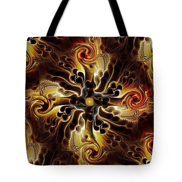 Vital Cross Tote Bag by Anastasiya Malakhova