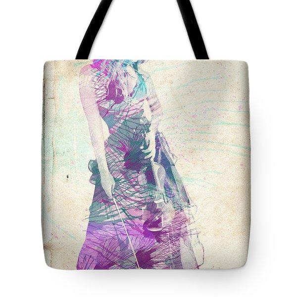 Viva La Vida Tote Bag by Linda Lees