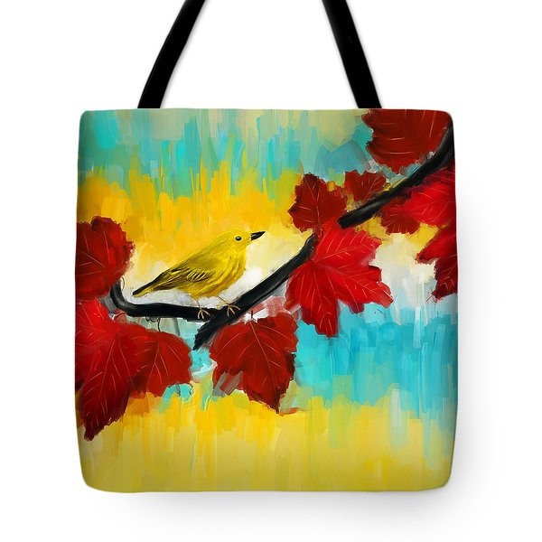 Vividness Tote Bag by Lourry Legarde