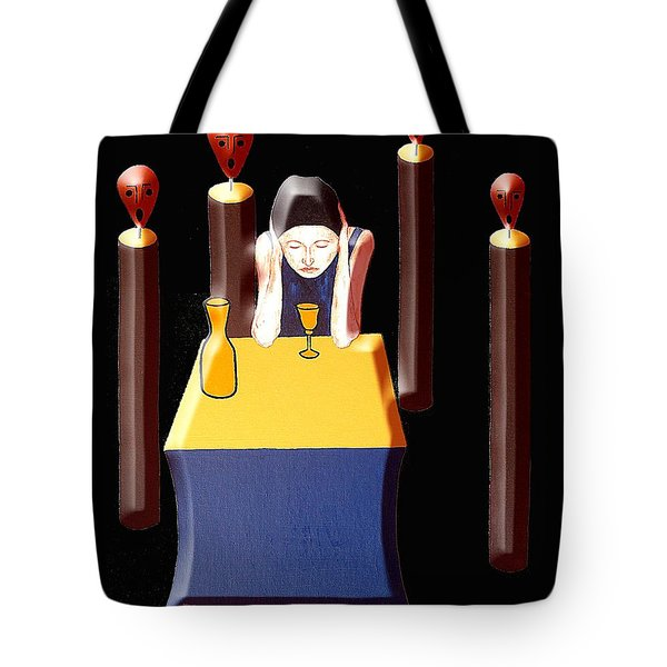 VOICES IN MY HEAD Tote Bag by Patrick J Murphy