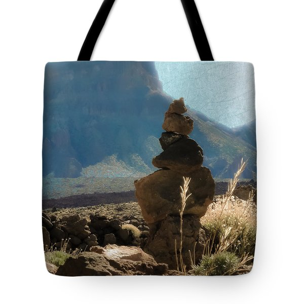 Volcanic Desert Composition Tote Bag by Loriental Photography