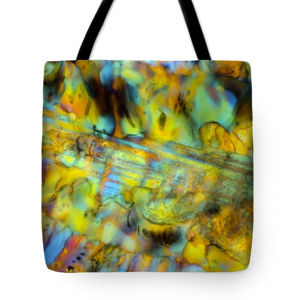 Volcanic Glass Tote Bag by Tom Phillips