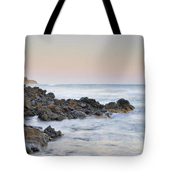 Volcanic Rocks Tote Bag by Guido Montanes Castillo