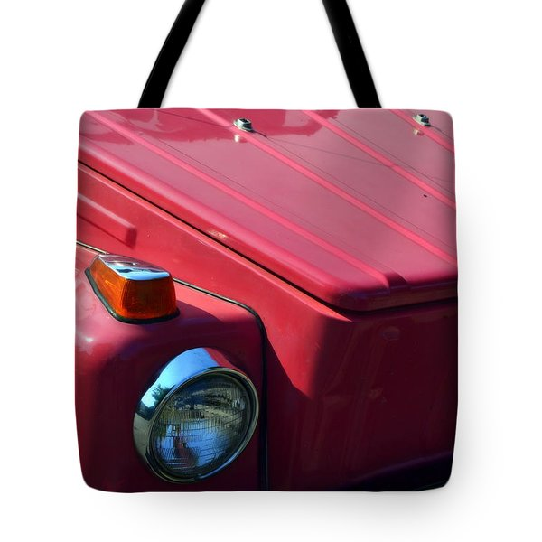 Volkswagen Thing Tote Bag by Michelle Calkins
