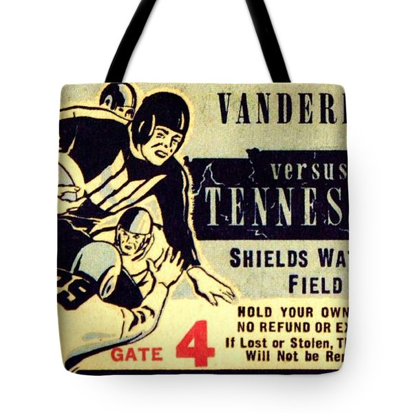 Volunteer State Rivalry Tote Bag by Benjamin Yeager