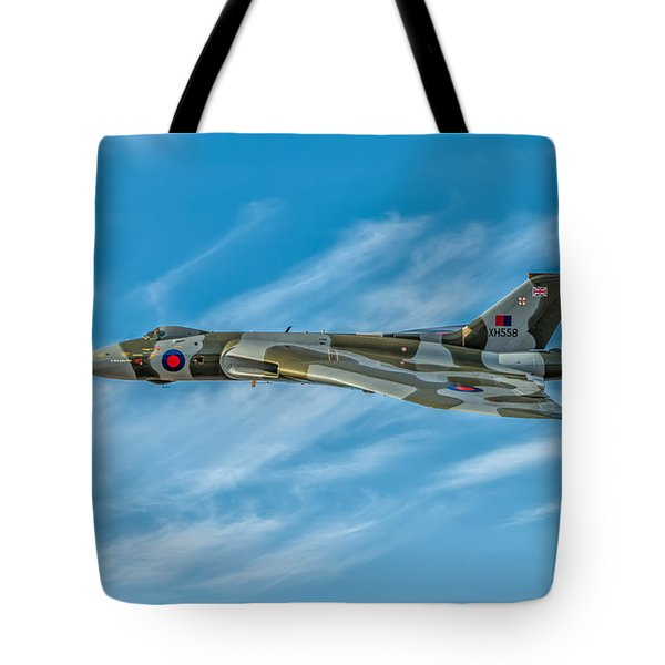 Vulcan Bomber Tote Bag by Adrian Evans