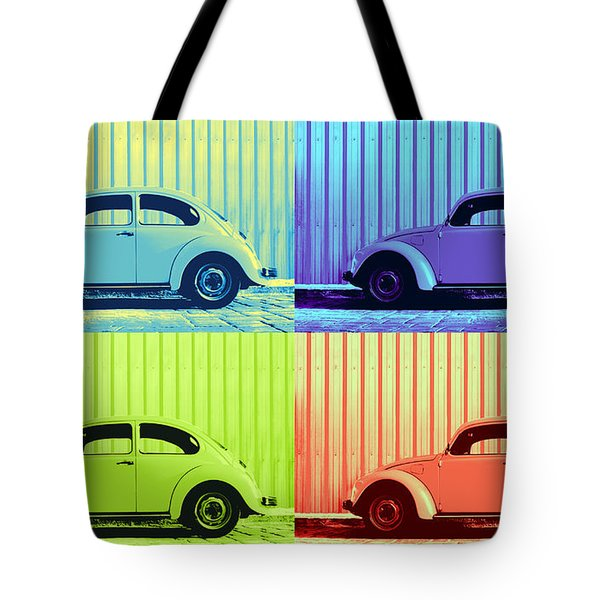 VW Pop Summer Tote Bag by Laura  Fasulo