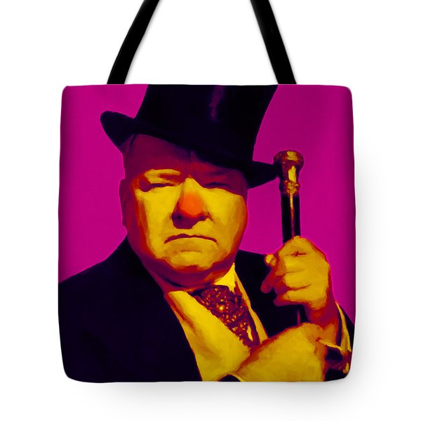 W C Fields 20130217 Tote Bag by Wingsdomain Art and Photography